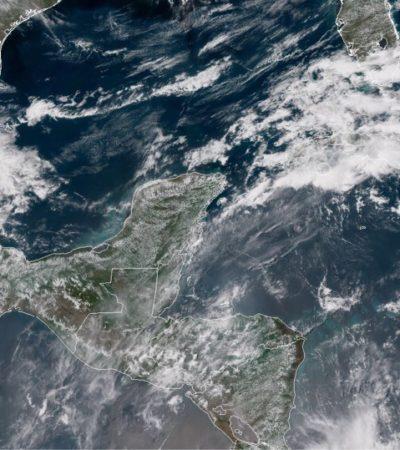 Sigue la posibilidad de lluvias por las tardes en la península de Yucatán