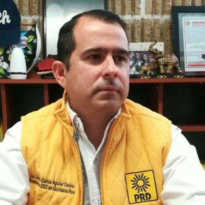 Decisión del Ieqroo estaba prevista, señala Jorge Aguilar; 'Chanito' sigue siendo el candidato, dice; confía en resolución del Teqroo