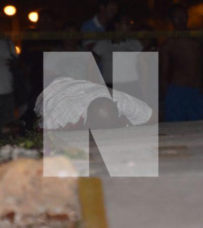 EJECUTAN A UN HOMBRE EN PASEOS DEL MAR: De un balazo, matan a una persona en la Región 251 de Cancún