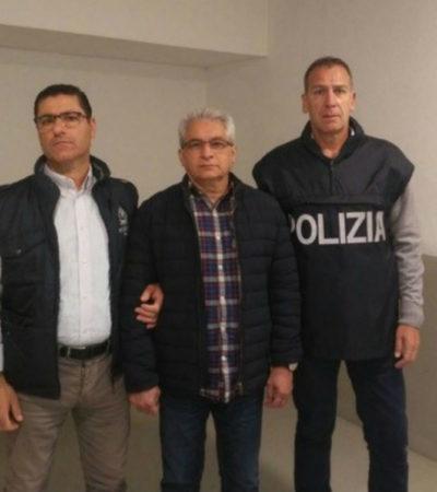 EXTRADITAN A YARRINGTON A EU: Ex Gobernador es enviado por Italia para ser juzgado por múltiples delitos vinculados a sus supuestos negocios con el cartel del Golfo, 'Los Zetas' y los Beltrán Leyva