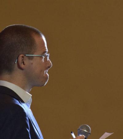 Ricardo Anaya insiste en que no existe procedimiento en su contra por lavado de dinero