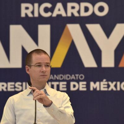 Ricardo Anaya dice que aumentará el salario mínimo a 100 pesos diarios… si gana