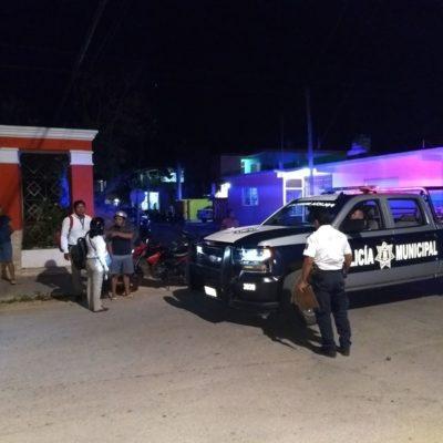 Dos heridos por choque de motos en Felipe Carrillo Puerto