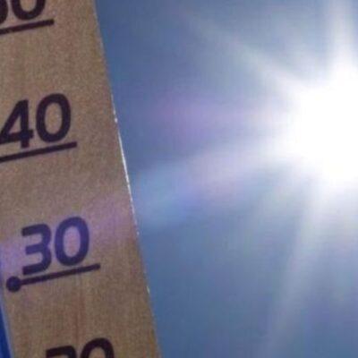Continuarán altas temperaturas en la Península de Yucatán de 35° a 39° C y presencia de lluvias aisladas