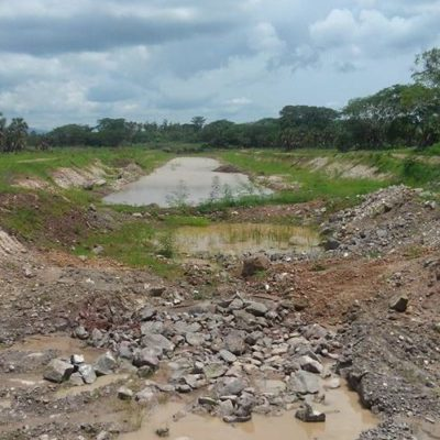 El Canal Centenario, la mega obra de Enrique Peña Nieto y Roberto Sandoval, gobernador de Nayarit, desde el 2014 sólo avanzó un 11 por ciento