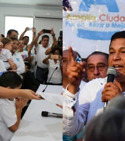 Mary Hadad y Fernando Zelaya presentan solicitud de registro como candidatos a la Alcaldía de OPB