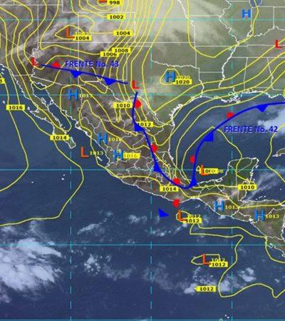 Continuará ola de calor en la Península de Yucatán