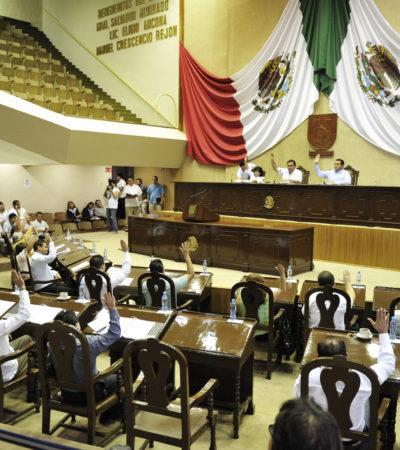 Exigen a diputados en campaña que pidan licencia en Yucatán