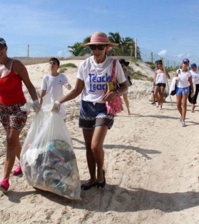 Preparan limpieza de playas en zonas de difícil acceso