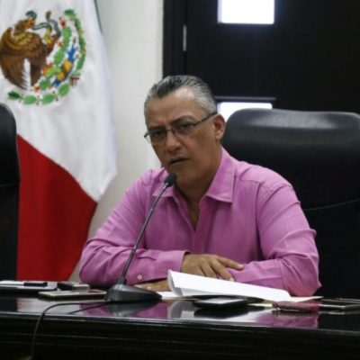Buscará Mario Villanueva Tenorio un acercamiento con el titular de la Fiscalía, Miguel Ángel Pech, para aclarar el reclamo de la dependencia