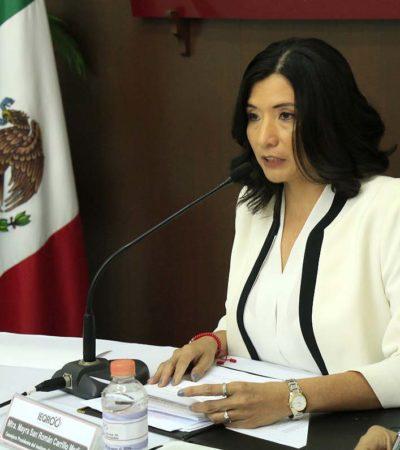 ÁRBITRO ELECTORAL, AL BANQUILLO: Mayra San Román Carrillo y otros funcionarios del Ieqroo enfrentarán proceso penal por manipulación indebida de listado nominal de electores en QR