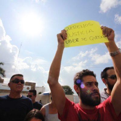 Ciudadanos de Cancún podrán definir mediante consulta pública si se autoriza el transporte a través de plataformas digitales