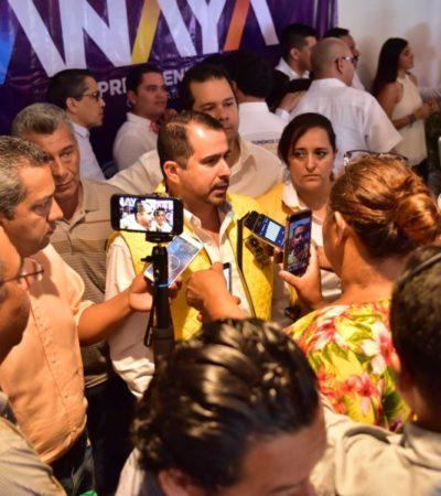 """""""PRIMERO EL PROYECTO, LUEGO LAS PERSONAS"""": Invita Jorge Aguilar a Ivanova y Emiliano a sumarse al PRD"""