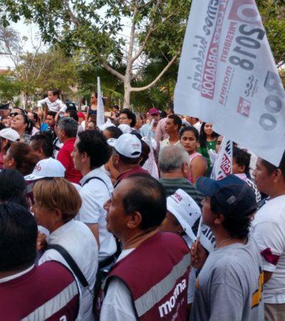 Morena buscará mantener alianza 'Juntos Haremos Historia' para las elecciones municipales de Quintana Roo