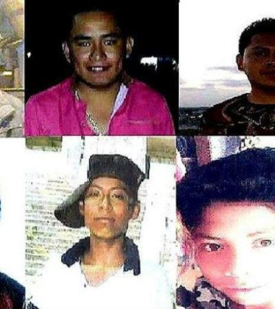 Buscan a otros seis jóvenes desaparecidos entre los límites de Oaxaca y Veracruz; hallan sus autos calcinados