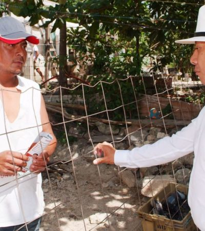 Pool Moo trabajaría para detener asentamientos irregulares