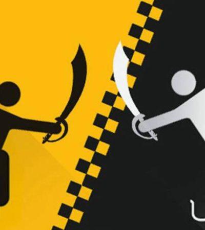 Rompeolas: Admite Teqroo recursos de taxistas contra 'la consulta'