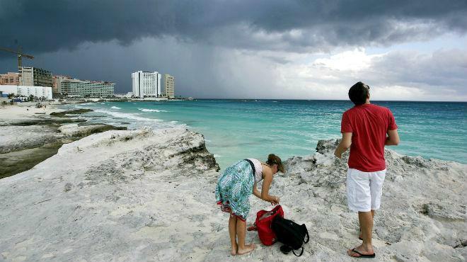 FRENTE FRÍO EN PUERTA: Pronostican domingode posible lluvia en Quintana Roo