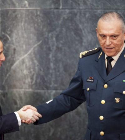 Meade se empeña en dar certeza jurídica al Ejército para que ciudadanos dejen de 'vivir con miedo'