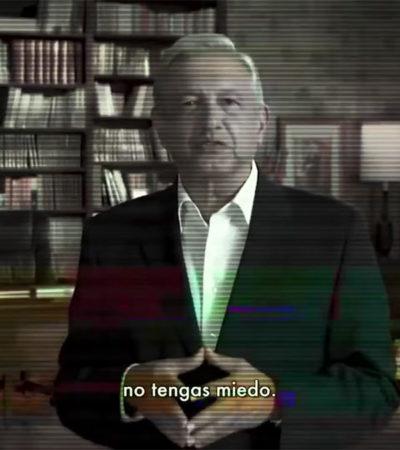 LA CAMPAÑA DEL MIEDO A TODO LO QUE DA: Intenta Meade ensuciar la imagen de AMLO a través de sus spots televisivos