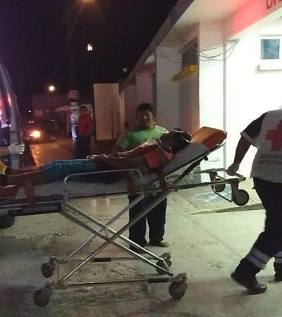 Hieren a una persona en Real del Caribe en Cancún