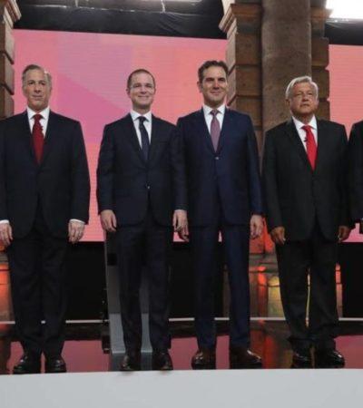 Anaya, Meade, AMLO y 'El Bronco' mintieron en el debate