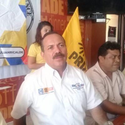Al PRD le vieron la cara con el Pacto por México: Julián Ricalde