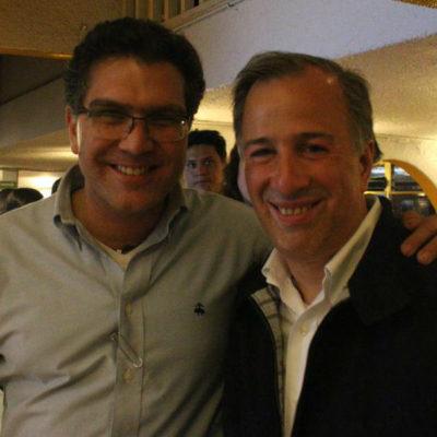 EL 'JAGUARÍN' SE PONE MANSITO Y SE VA CON MEADE: Armando Ríos Piter se une a la campaña del candidato del PRI