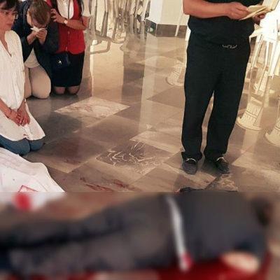 Asesinan a puñaladas a un sacerdote en plena iglesia en Cuautitlán Izcalli