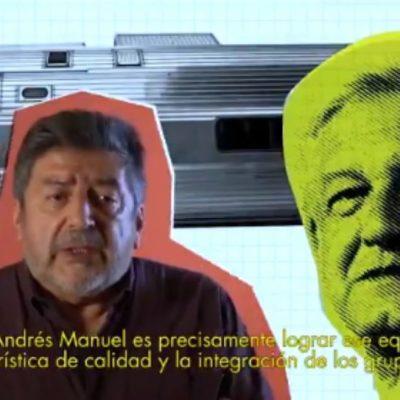VIDEO | El 'Tren Maya' de AMLO, crearía centros turísticos, integraría a comunidades originarias y resaltaría la cultura maya, dice Rogelio Jiménez Pons