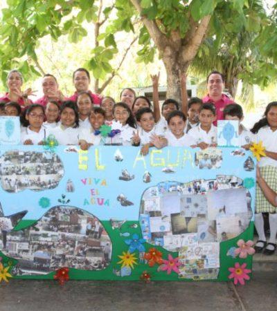 Inician programa de vinculación con cancunenses para cuidar el agua