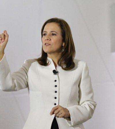 Margarita Zavala promete mejores servicios e infraestructura en frontera de México con EU
