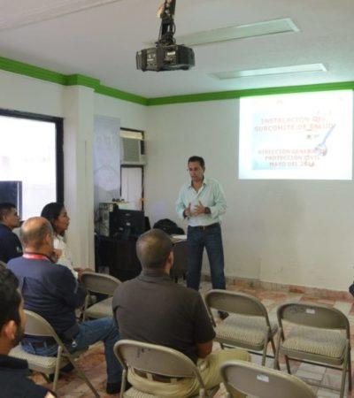 Termina la instalación del Comité Operativo Especializado en Fenómenos Hidrometeorológicos en Benito Juárez
