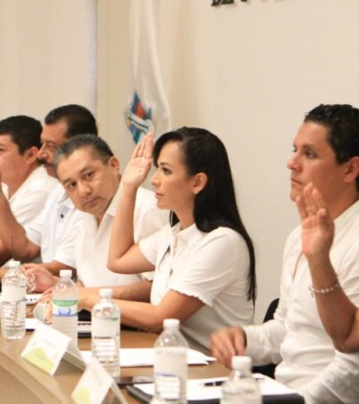 SE SEPARA DE SU CARGO LAURA FERNÁNDEZ: Alcaldesa de Puerto Morelos pidió licencia para buscar la reelección