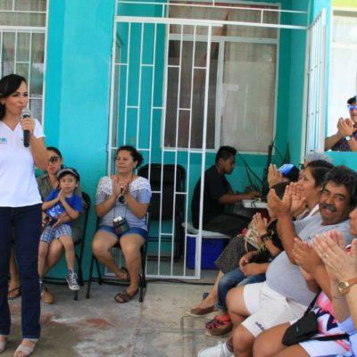 Se propone Laura Fernández aterrizar un Atlas de Riesgo para Puerto Morelos