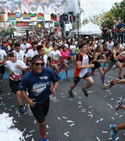 Continúan inscripciones para el 34° Maratón de Cancún
