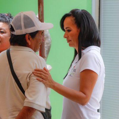 Visita Laura Fernández Leona Vicario y ofrece respaldar y facilitar trámites para iniciar nuevos negocios