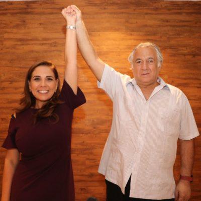 'MARA', LA ÚNICA CANDIDATA DE AMLO: Da espaldarazo el coordinador de Turismo de Morena a su candidata a la presidencia municipal de Cancún
