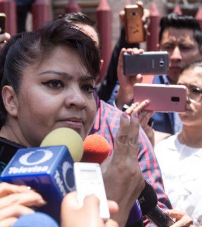 Reabren cinco causas penales contra Nestora Salgado en Guerrero