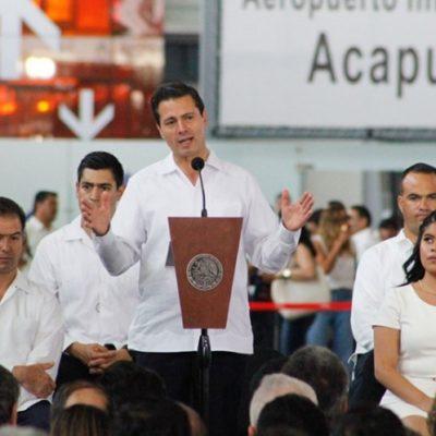 Reprueba Peña Nieto la violencia electoral que ha derivado en la muerte de 35 candidatos en México; se compromete a trabajar para brindar condiciones de paz y seguridad en las elecciones