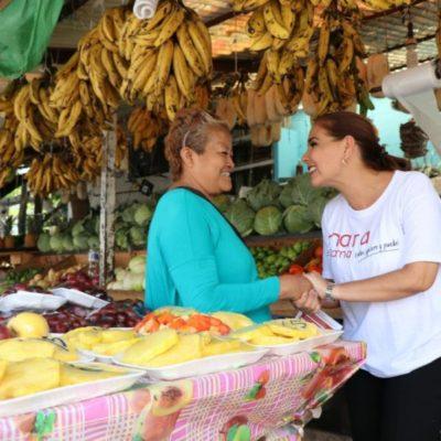 Se invertirán recursos para recuperar los mercados de la ciudad: Mara Lezama