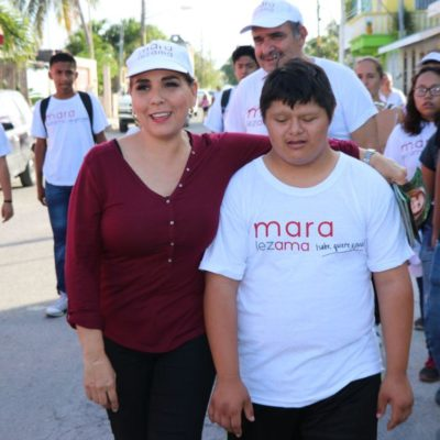 Comienza Mara Lezama recorrido por los 14 mercados de Cancún en su campaña por la Alcaldía de BJ