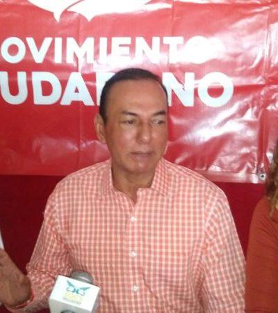 IEQROO hace el trabajo sucio, violando la Constitución, pero apoyaremos hasta el final a José Luis Toledo Medina: MC