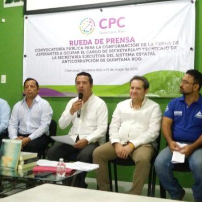 Lanzan convocatoria para ocupar el cargo de secretario técnico del Sistema Estatal Anticorrupción