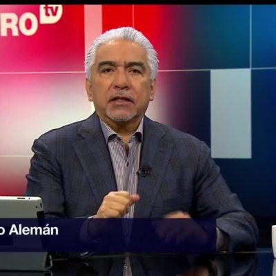 Por incitar a la violencia contra AMLO en un 'tuit', Televisa termina relación laboral con Ricardo Alemán