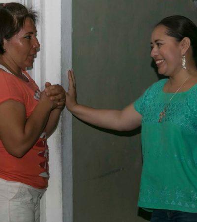 EN CALIENTE Y SIN PENSARLO DOS VECES…: Perla Tun pide debate en Cozumel