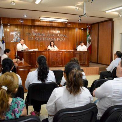 EL CASO 'CHANITO', EN EL TEQROO: Resolverá hoy Tribunal impugnación contra el Ieqroo por negarle el registro al candidato del 'Frente' en BJ
