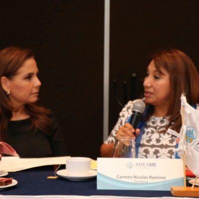 Se reúne Mara Lezama con mujeres empresarias y ofrece un Cancún de paz con igualdad de oportunidades para todos