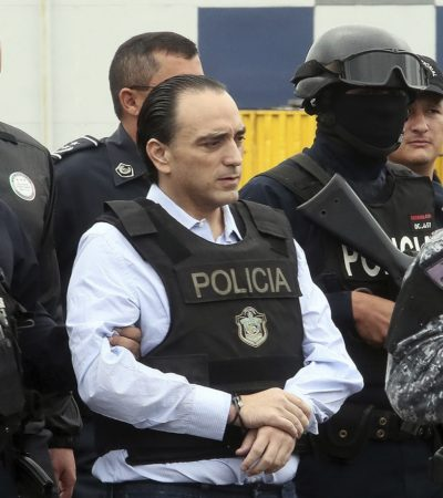 Espera Carlos Joaquín que Borge pueda ser traído a Quintana Roo