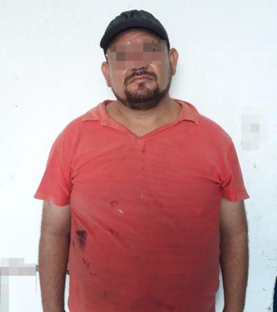 Detienen a presunto responsable de varios asaltos en Huay Pix y Chetumal